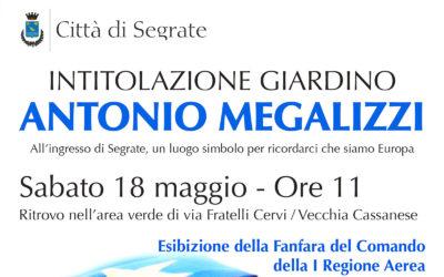 Intitolazione giardino Antonio Megalizzi a Segrate