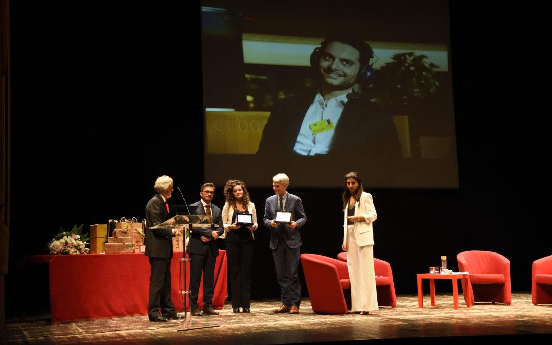 Riconoscimento ad Antonio Megalizzi in occasione del Premio Goffredo Parise