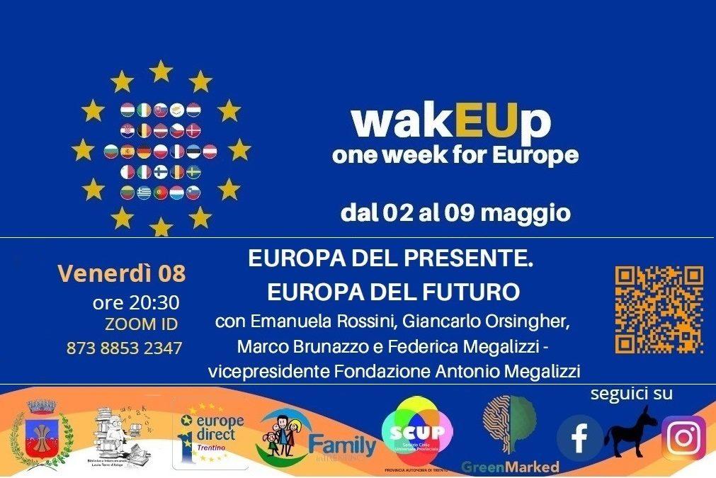 """""""Europa del Presente. Europa del futuro"""" con Europe Direct Trentino e Politiche Giovanili di Lavis"""
