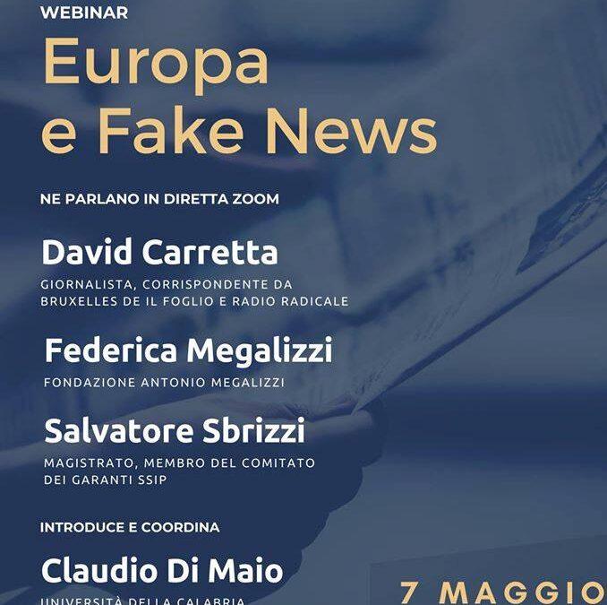 """""""Europa e Fake News"""" con SSIP"""