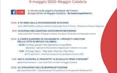 """""""Distanti ma uniti"""" con Europe Direct Reggio Calabria"""