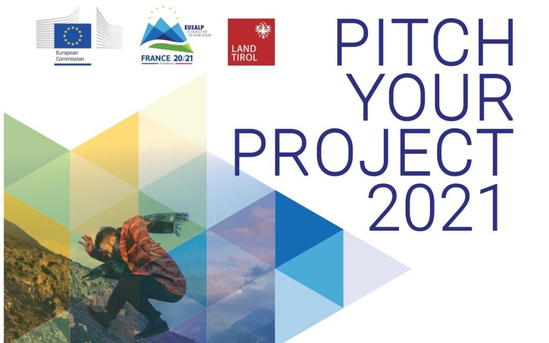 """CONCORSO """"PITCH YOUR PROJECT"""" DI EUSALP"""