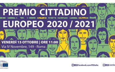 Premio del cittadino europeo 2021